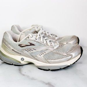 Brooks MOGO running shoes silver grey training